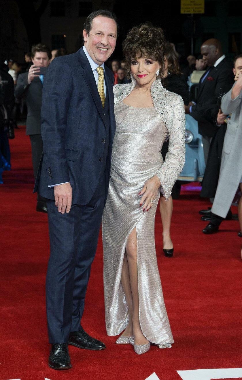 Percy Gibson z żoną