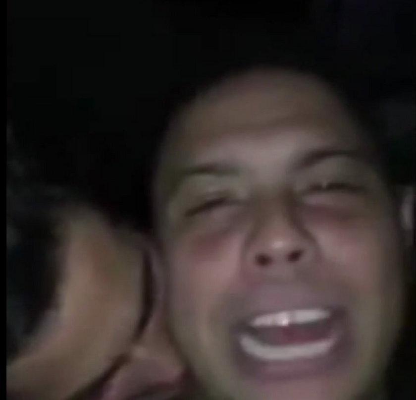 Szokujące nagranie pijanego Ronaldo z jego chłopakiem?!