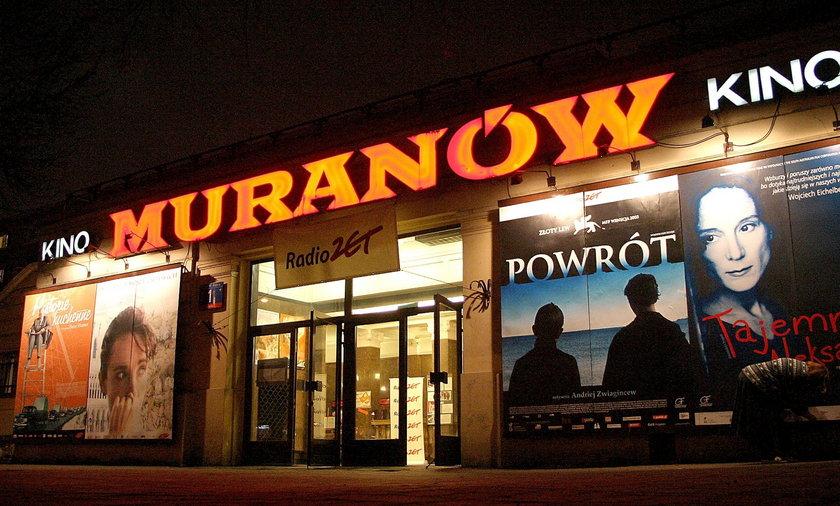 """Kino """"Muranów"""" w Warszawie. Dziś dowiedzieliśmy się, kiedy zostanie otwarte."""