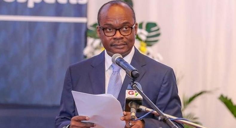 The Governor of the Bank of Ghana (BoG), Dr Ernest Addison