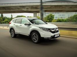 Honda CR-V 2.0 i-MMD Hybrid AWD –stonowana opcja