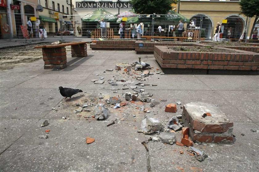 Remont rynku w Gliwicach
