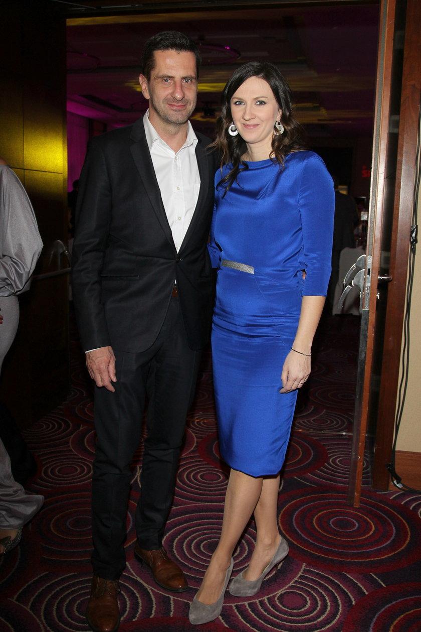 Monika Pyrek- Rokita z mężem Norbertem
