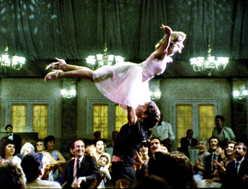 """Patrick Swayze i Jennifer Grey w """"Dirty Dancing"""""""