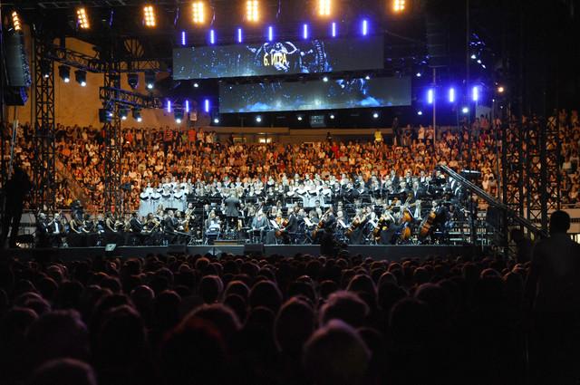 Simfonijski orkestar, Hor RTS, solisti...