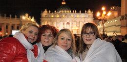 Tak witali papieża na placu św. Piotra. Relacja z Rzymu