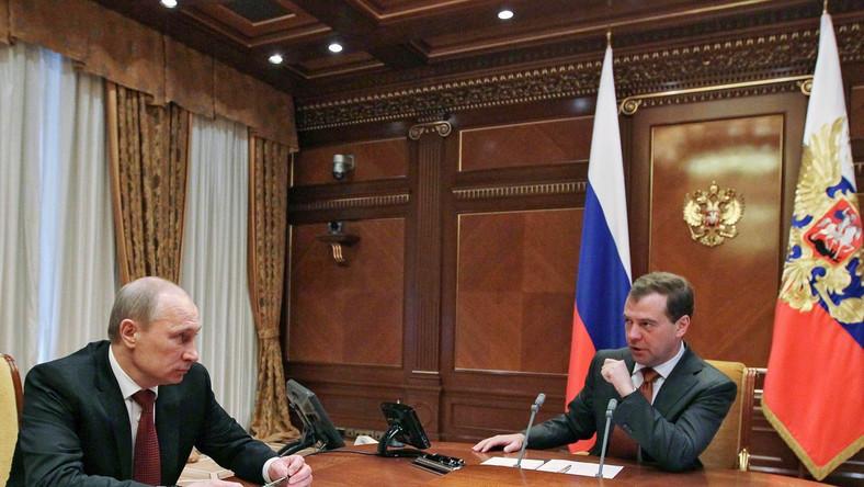 Spotkanie dwóch rosyjskich przywdców