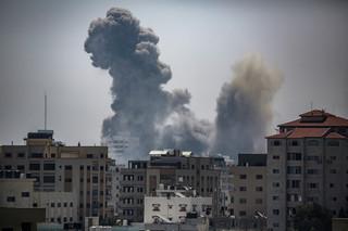 Konflikt izraelsko-palestyński. Intensywne ataki lotnictwa na Strefę Gazy