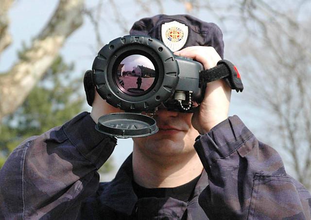Ručna termovizijska kamera