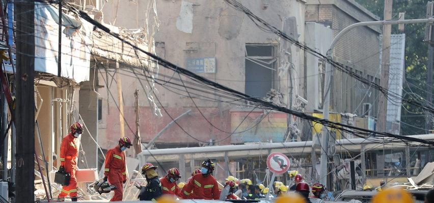 Koszmar w restauracji w Chinach po wybuchu gazu. Są zabici i ranni [WIDEO]