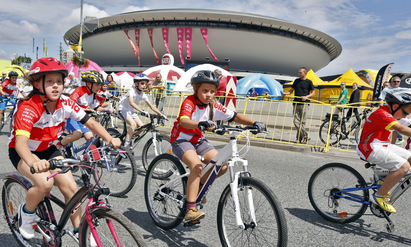 Tour de Pologne w Katowicach.