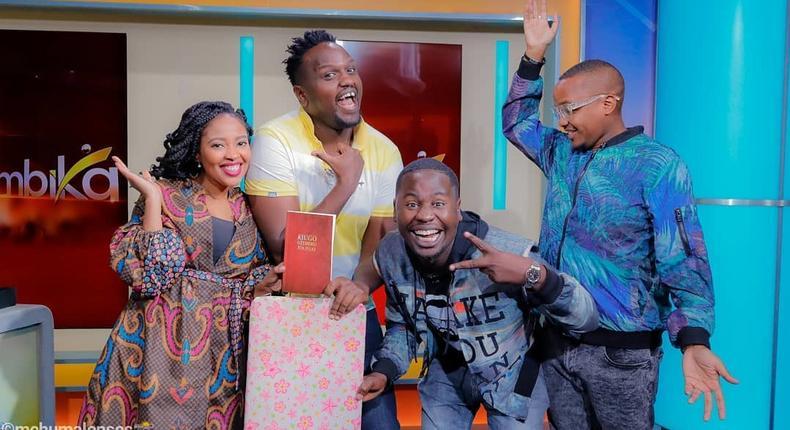 Holy Dave Muthengi, Kambua, Timeless Noel, DJ Gee Gee a