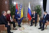 Milorad Dodik i Željka Cvijanović sa Vladimirom Putinom