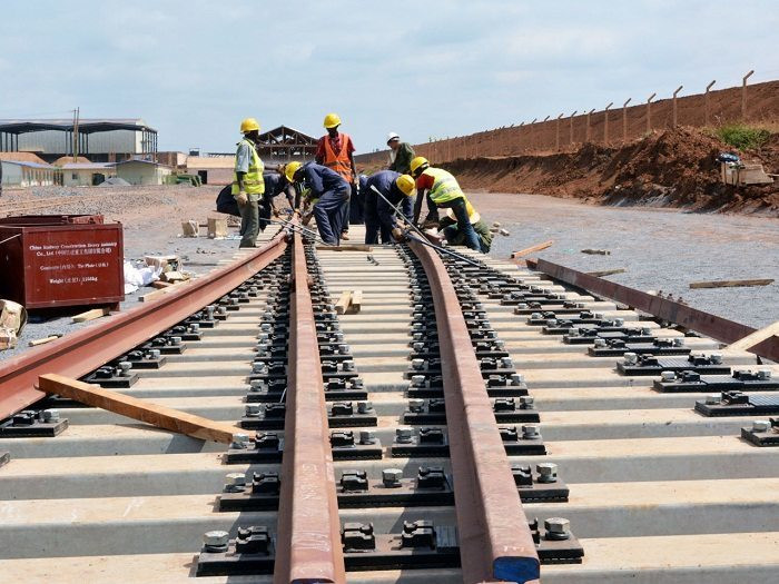 The standard gauge railway
