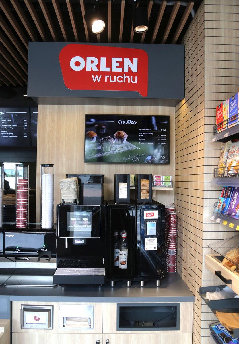 Orlen w Ruchu ma oferować także kawę z ekspresu