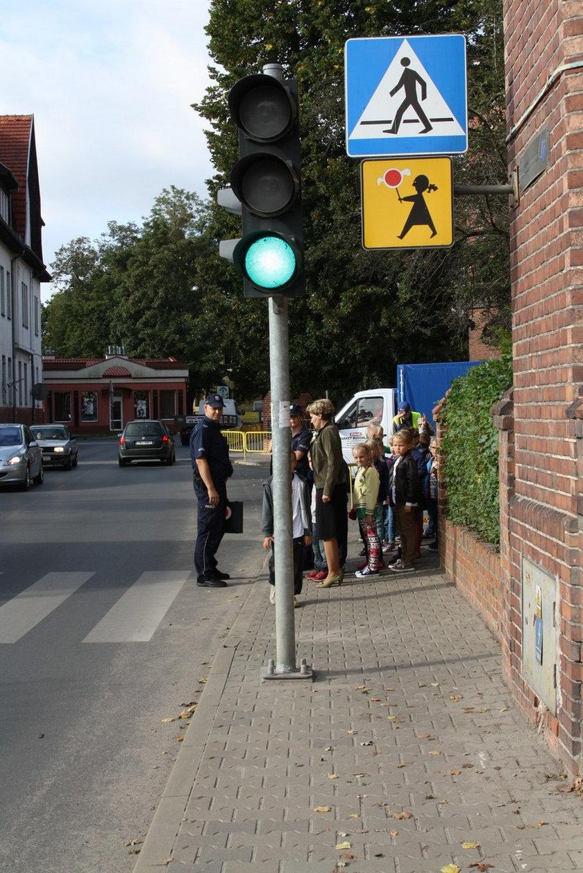 Policyjna akcja bezpieczeństwa