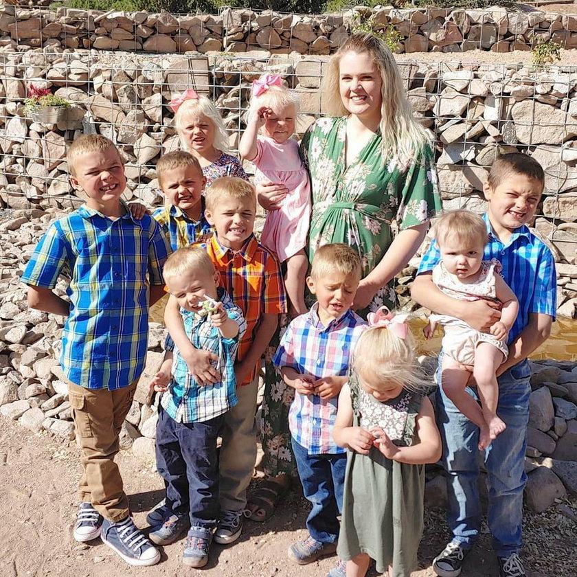 Urodziła 10 dzieci w 10 lat. Właśnie czeka na kolejne