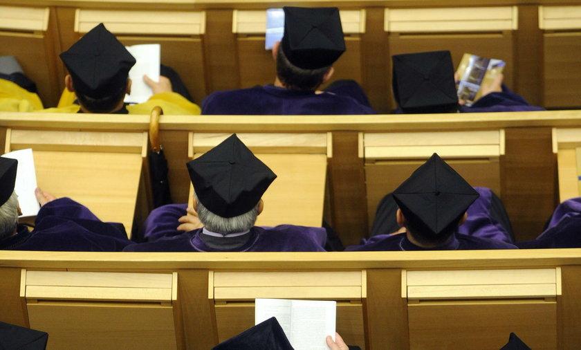 Zmiany na uczelniach wyższych