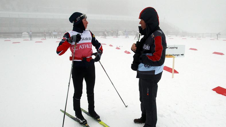 Justyna Kowalczyk i Aleksander Wierietilny
