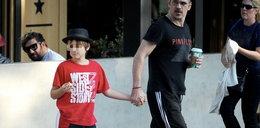 Colin Farrell na spacerze z synkiem. Te zdjęcia mówią wszystko