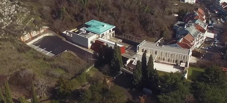 Milo Đukanović vila Podgorica