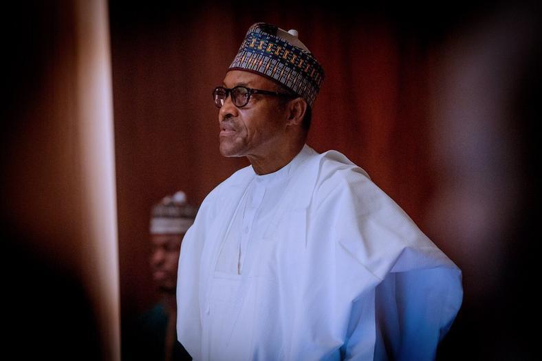 President Muhammadu Buhari issues the riot act against Zamfara bandits[Twitter/@BashirAhmaad]