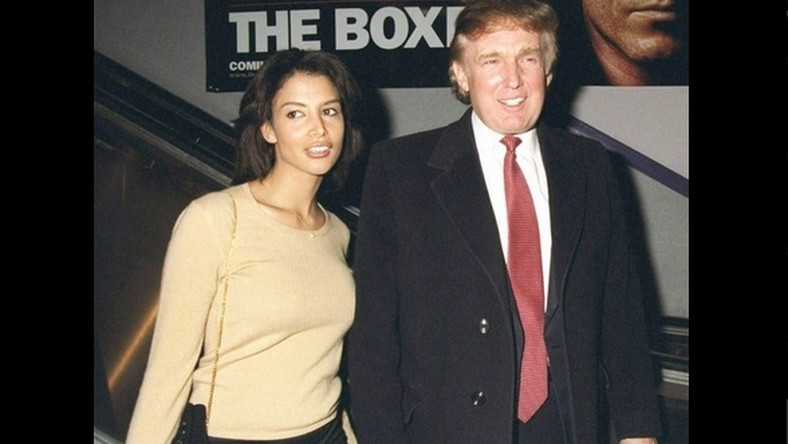 Piękna modelka spotykała się z Trumpem w 2001 roku.