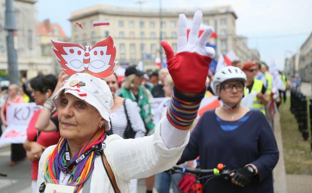 12 tys. osób. Ratusz podał z kolei liczbę ponad 90 tys. uczestników manifestacji.