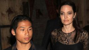 Angelina Jolie z synem na obiedzie. Fani zwrócili uwagę na jej wygląd. Nie wygląda dobrze...