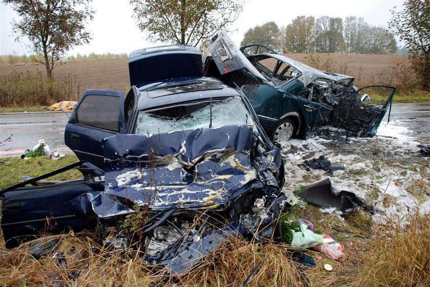 To my mieliśmy zginąć w wypadku!