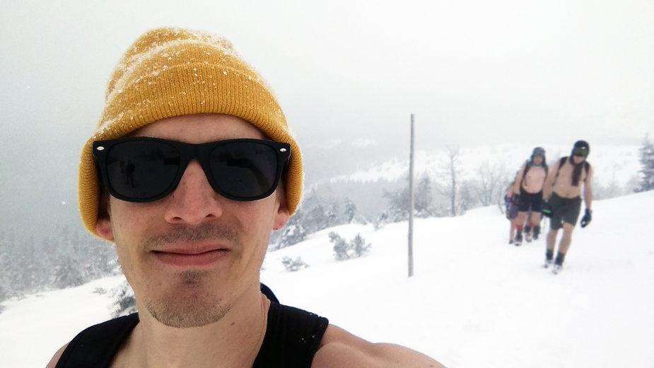 Adam Bocheński od czterech lat obcuje z zimnem. Opowiada o swoich doświadczeniach