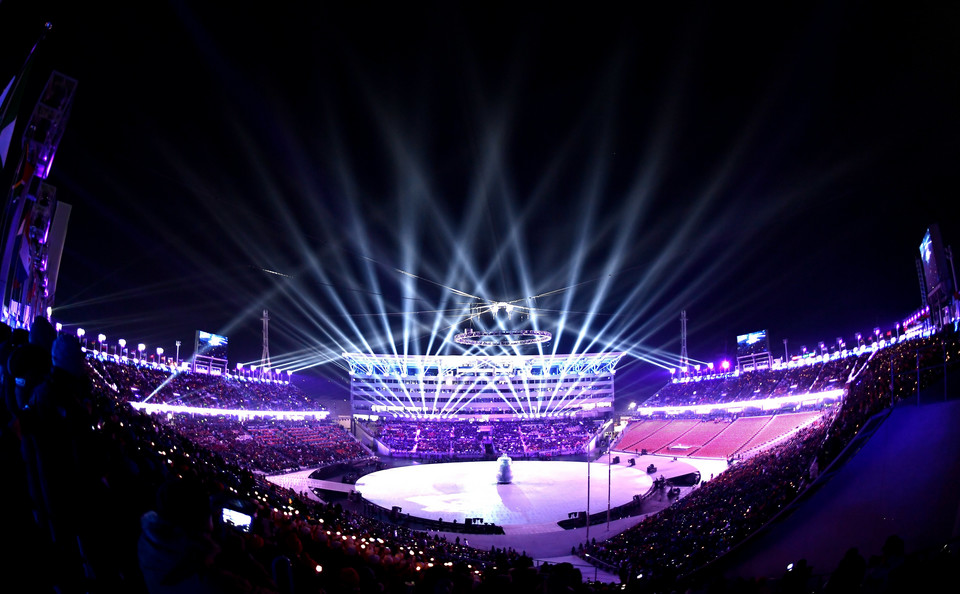 epa06508028 - SOUTH KOREA PYEONGCHANG 2018 OLYMPIC GAMES (Opening Ceremony - PyeongChang 2018 Olympic Games)