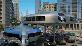 Gyrocar - futurystyczny pomysł na miejskie korki