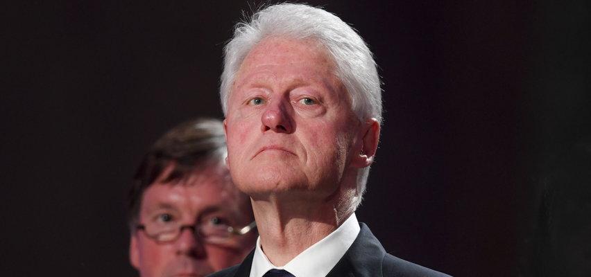 """Bill Clinton w szpitalu. """"Mamy nadzieję, że wkrótce wróci do domu"""""""