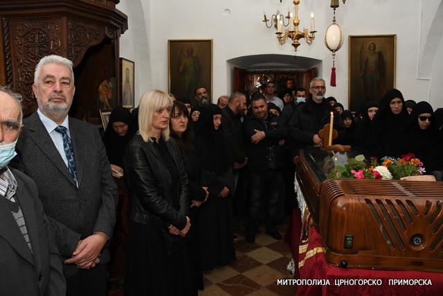 Zdravko Krivokapić na ispraćaju mitropolita Amfilohija
