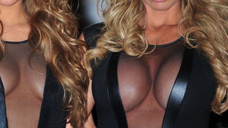 Katie Price i Amy Willerton