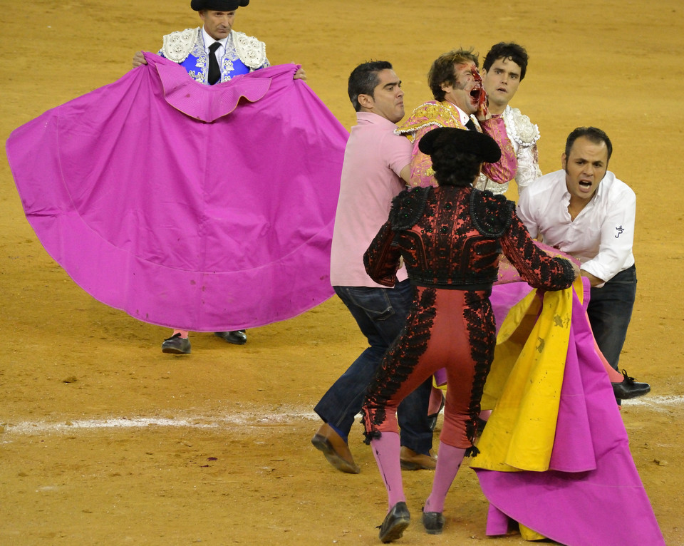 Bullfighter Juan Jose Padilla