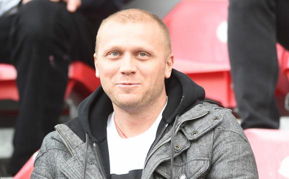 Zvonimir Vukić je gledao duel Voždovac - Partizan