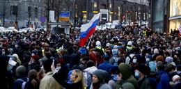 Rosjanie manifestowali w obronie Nawalnego. Setki zatrzymanych