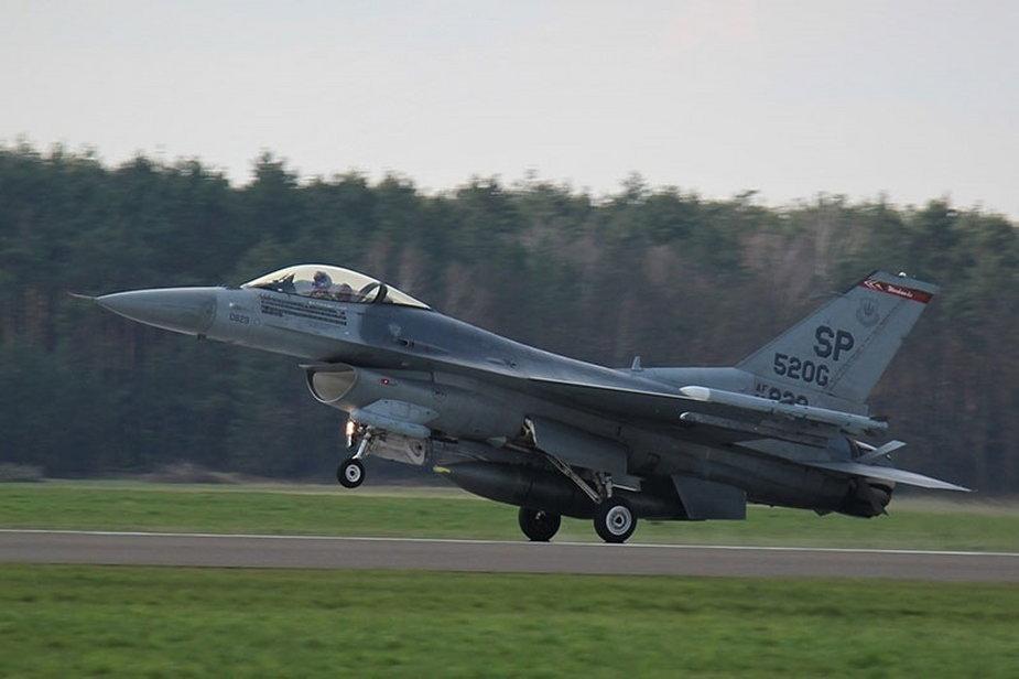 Szkolenie myśliwców Łask