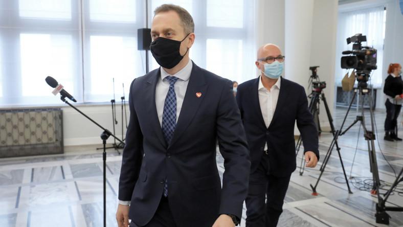Cezary Tomczyk i Robert Kropiwnicki