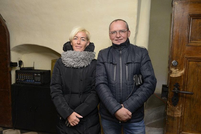 Sylwia (48 l.) i Wiesław (55 l.) Zając, mieszkańcy Bolesławowa