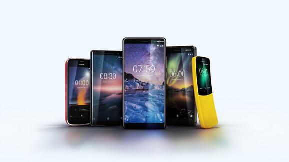 Nokia je u Barseloni na MWC predstavila pet novih modela