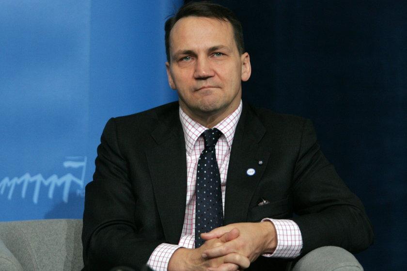 Szef polskiego MSZ, Radosław Sikorski