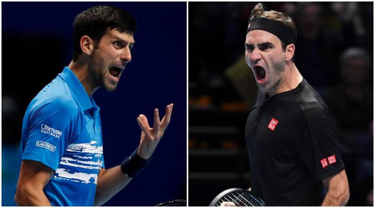 Novak Đoković i Rodžer Federer