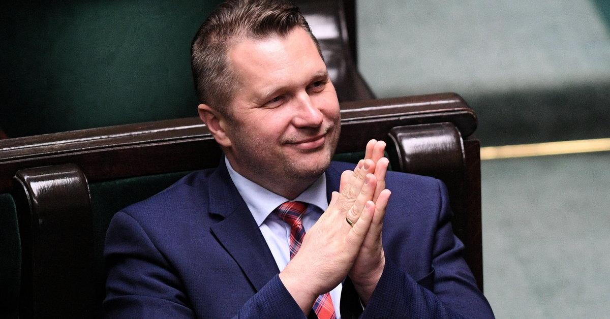 Źródła Onetu: Przemysław Czarnek nowym ministrem edukacji i nauki - Wiadomości