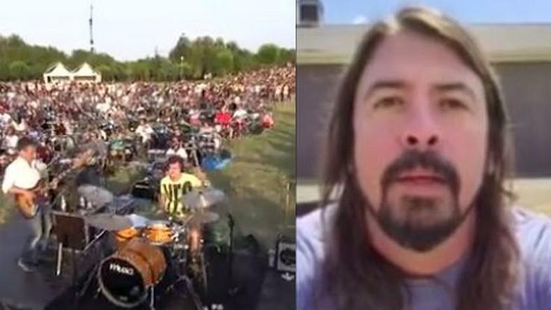 Dave Grohl i muzycy z włoskiej Ceseny