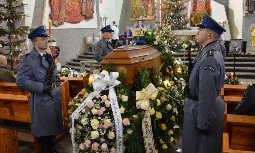 Pogrzeb mł. asp. Krzysztofa Węglińskiego