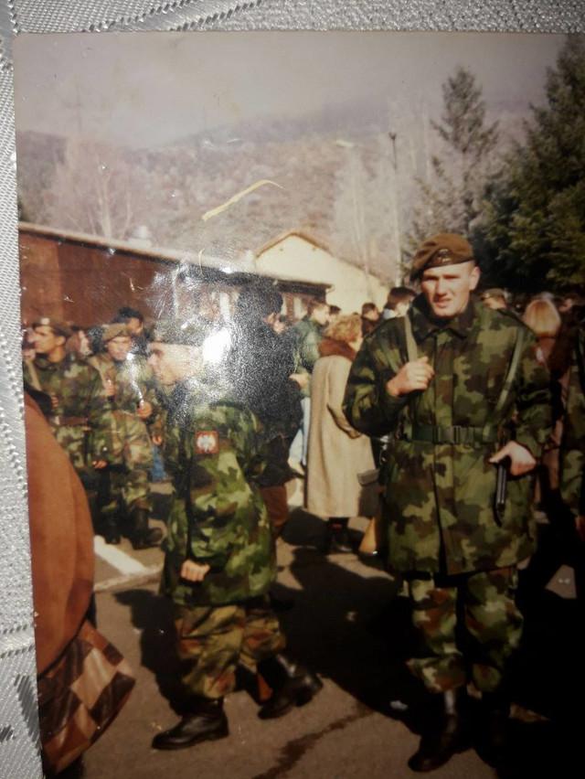 Enis Suljević u vojsci