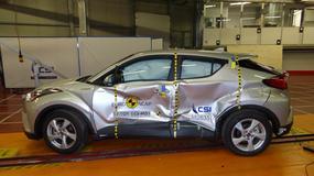 EuroNCAP: Toyota C-HR na pięć gwiazdek